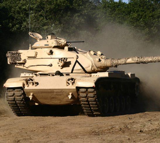 M60 turret left Beltring 2004